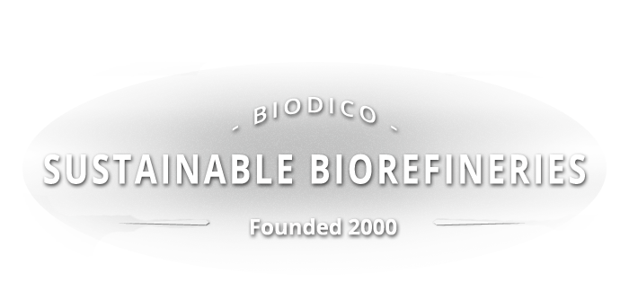 Biodico - Sustainable Bio-refineries Founded 2000