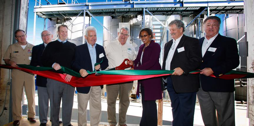 California Welcomes World's First  Fully Sustainable Biofuel Facility